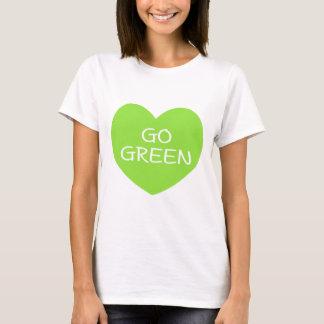 GO GREEN Heart T-Shirt