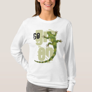 Go Green Iguana T-Shirt