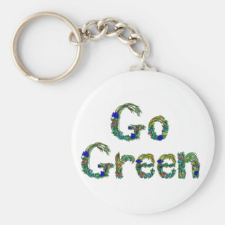 Go Green Key Chain