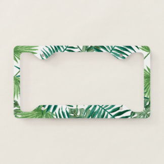 GO GREEN LICENSE PLATE FRAME