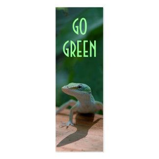 Go green mini business card