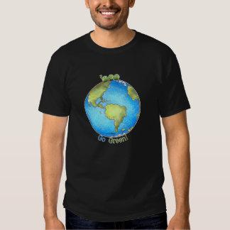 Go Green! - Peace on Earth Tee shirt