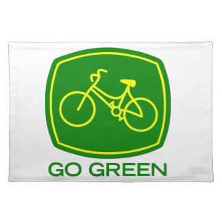 Go Green Placemat