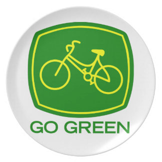 Go Green Plate