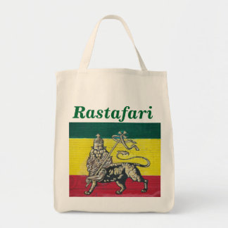Go Green Rastafari Tote Bag