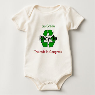 Go Green - Recycle the Reds in Congress Baby Bodysuit
