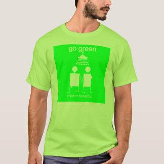 Go Green - Shower Together Men's Basic Tee