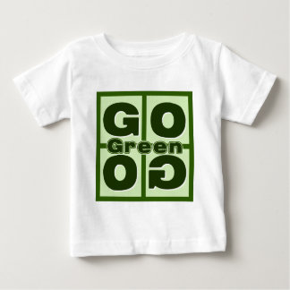 Go Green Square Tee Shirts