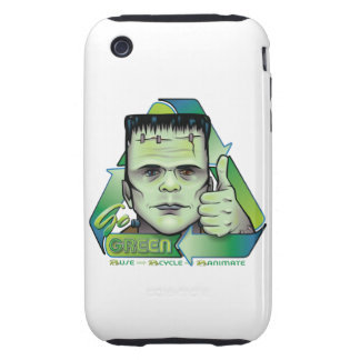 Go Green Tough iPhone 3 Covers