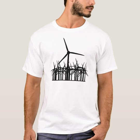 go green wind energy icon T-Shirt
