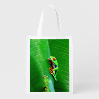 Go Green with a Red-Eyed Tree Frog Market Tote