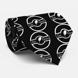 Go Greens Graphic Tie