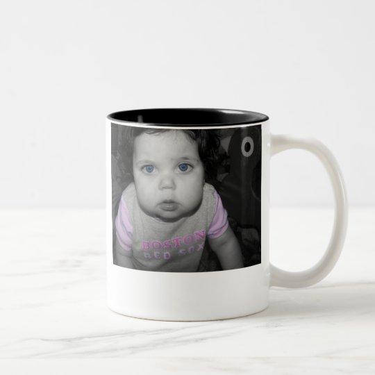 Go Happy Father's Day! Two-Tone Coffee Mug