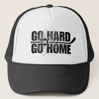 Go Hard or Go Home (Hockey) Trucker Hat
