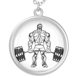 Go Heavy Or Go Home Bodybuilding Necklace