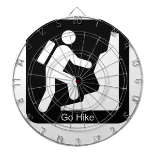 Go hike hiker dartboard with darts