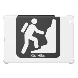 Go hike hiker iPad mini case