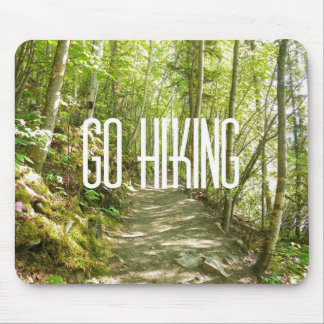 Go Hiking Mouse Pad