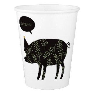 Go Hog Wild! paper cups Paper Cup