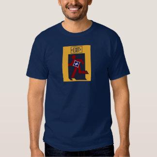 Go Home Walton Blue Tshirts