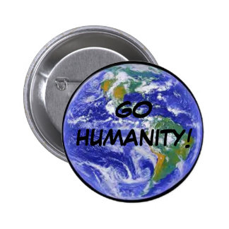 """GO HUMANITY"" Pin"