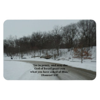 GO IN PEACE RECTANGULAR PHOTO MAGNET