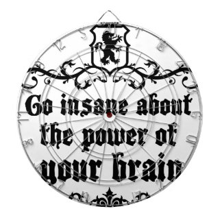 Go Insane About The Power Of Your Brain Dartboard