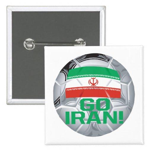 Go Iran Pin