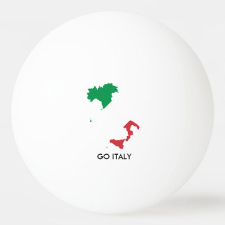 GO ITALY PING PONG BALL