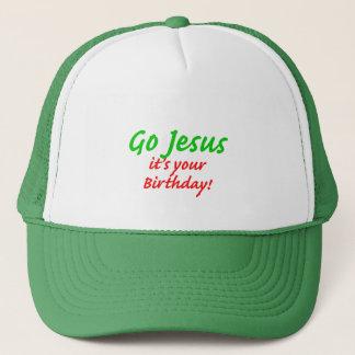 Go Jesus Christmas Trucker Hat