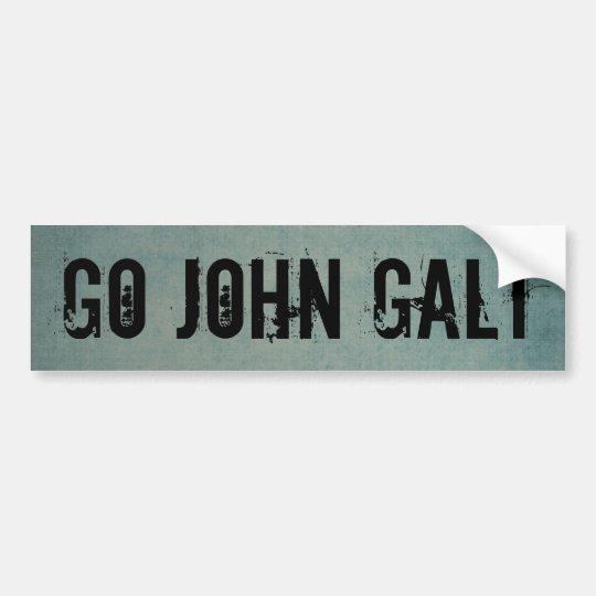 GO JOHN GALT BUMPER STICKER