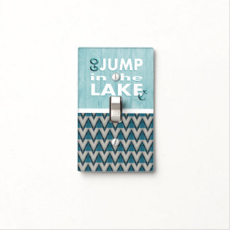 Go Jump in the Lake Light Switch Plate