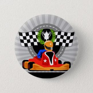 Go Kart birthday favor gift 2 Inch Round Button