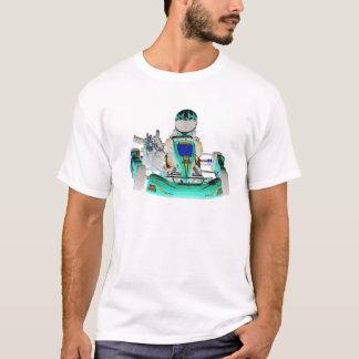 Go Kart Racer Inverted Color T-Shirt
