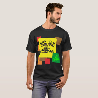 Go Karting Outdoors Sports Lifestyle Tshirt