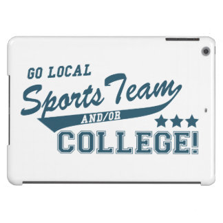 Go Local Sports Team and or College iPad Air Covers