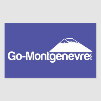 Go Montgenevre Sticker