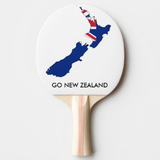 GO NEW ZEALAND PING PONG PADDLE
