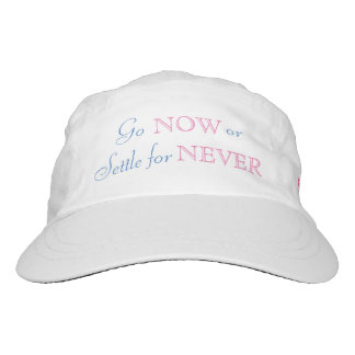 Go Now or Settle for Never-Unravel Travel Hat