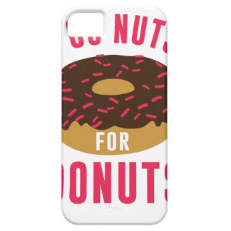 Go Nuts For Donuts Case For The iPhone 5