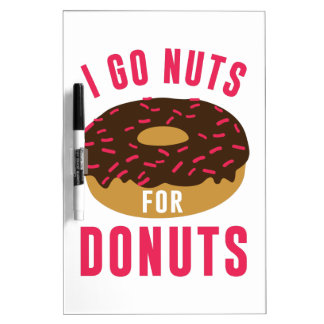 Go Nuts For Donuts Dry-Erase Whiteboards