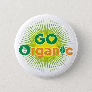 Go Organic 2 Inch Round Button