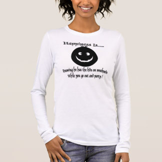 go out and party long sleeve T-Shirt