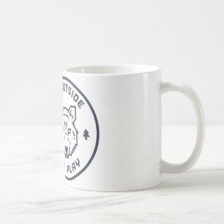 Go Outside and Play - Wolf Coffee Mug