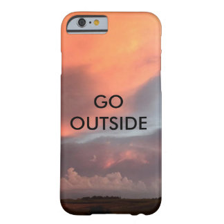 GO OUTSIDE BARELY THERE iPhone 6 CASE