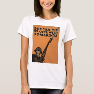 Go Over With US Marines T-Shirt
