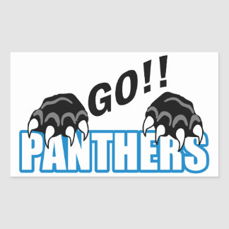 Go Panthers Sticker