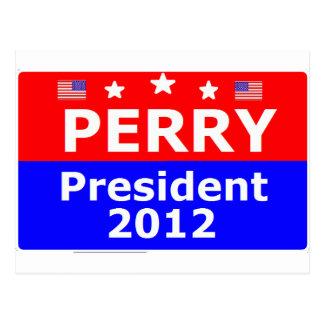 Go Perry 2012 Postcard