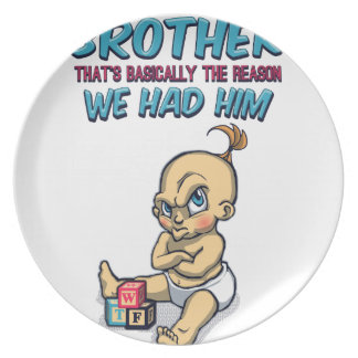 Go Play With Your Brother - Perfect Parenting Plate