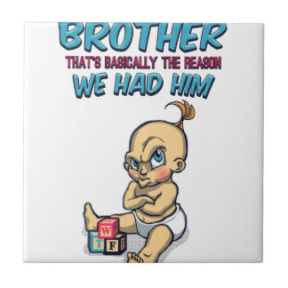 Go Play With Your Brother - Perfect Parenting Tile